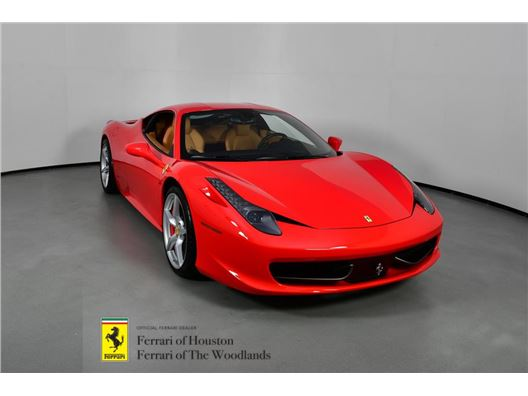 2012 Ferrari 458 Italia for sale in Houston, Texas 77057