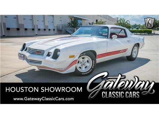 1981 Chevrolet Camaro for sale in Houston, Texas 77090
