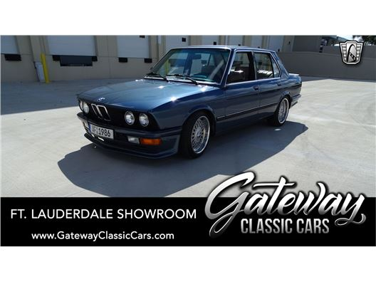 1986 BMW 535I for sale in Coral Springs, Florida 33065