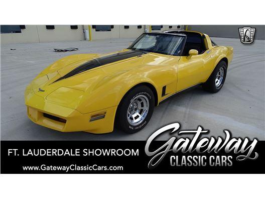 1980 Chevrolet Corvette for sale in Coral Springs, Florida 33065