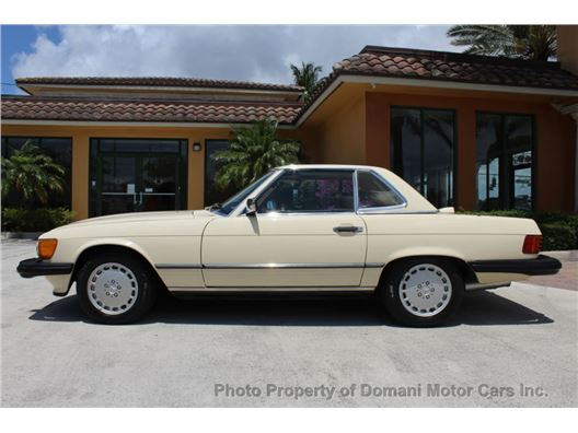 1987 Mercedes-Benz 560 for sale in Deerfield Beach, Florida 33441