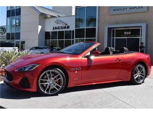 2019 Maserati GranTurismo Convertible for sale in Naples, Florida 34102