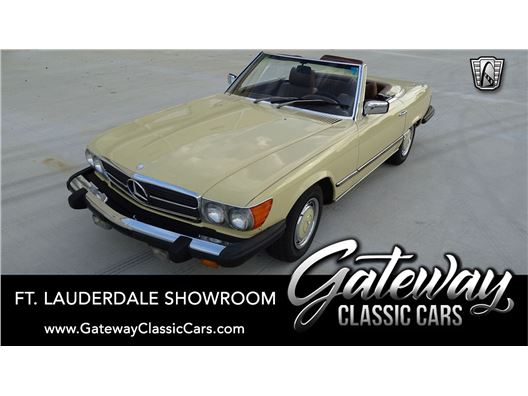 1976 Mercedes-Benz 450SL for sale in Coral Springs, Florida 33065