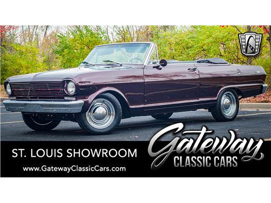 1962 Chevrolet Nova for sale in OFallon, Illinois 62269