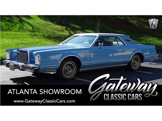 1978 Lincoln Continental for sale in Alpharetta, Georgia 30005