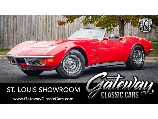 1972 Chevrolet Corvette for sale in OFallon, Illinois 62269