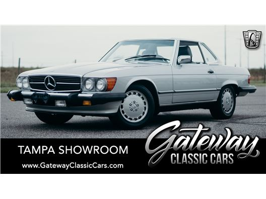 1989 Mercedes-Benz 560SL for sale in Ruskin, Florida 33570