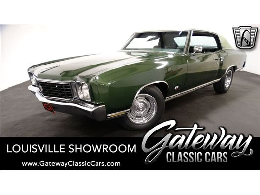 1972 Chevrolet Monte Carlo for sale in Memphis, Indiana 47143