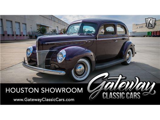1940 Ford Deluxe Sedan for sale in Houston, Texas 77090