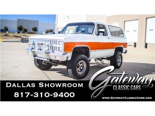 1981 Chevrolet Blazer for sale in DFW Airport, Texas 76051
