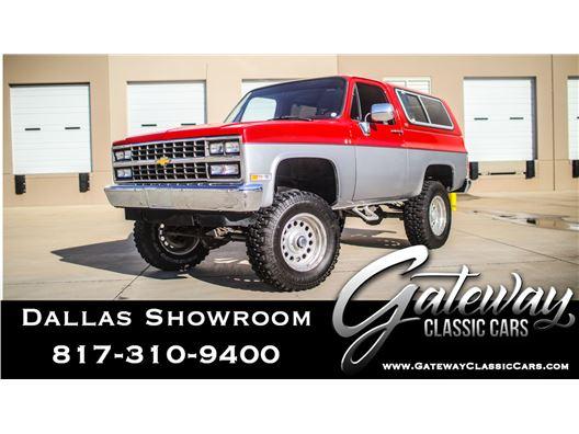 1990 Chevrolet Blazer for sale in DFW Airport, Texas 76051