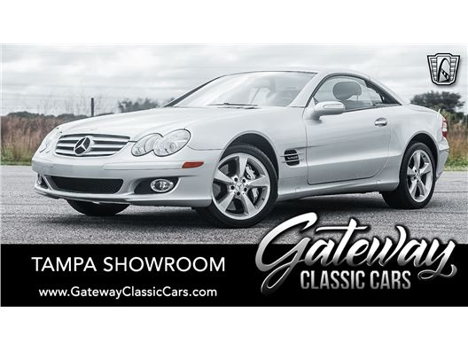 2007 Mercedes-Benz SL600 for sale in Ruskin, Florida 33570