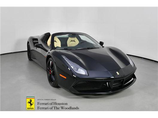 2018 Ferrari 488 Spider for sale in Houston, Texas 77057