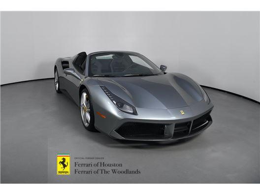 2019 Ferrari 488 Spider for sale in Houston, Texas 77057