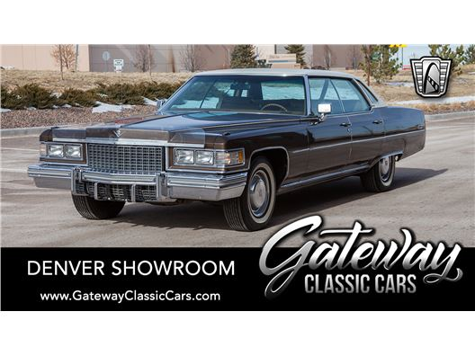 1976 Cadillac Sedan DeVille for sale in Englewood, Colorado 80112