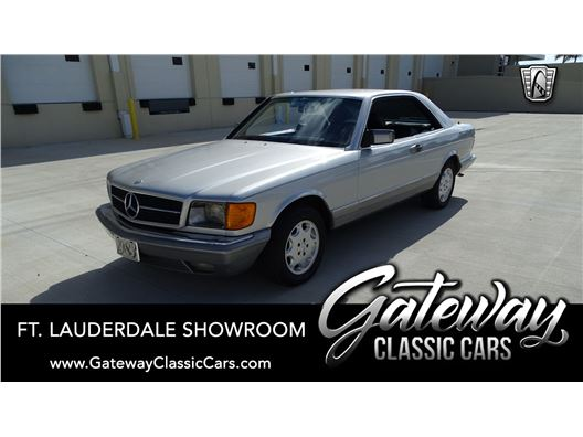 1983 Mercedes-Benz 380SEC for sale in Coral Springs, Florida 33065