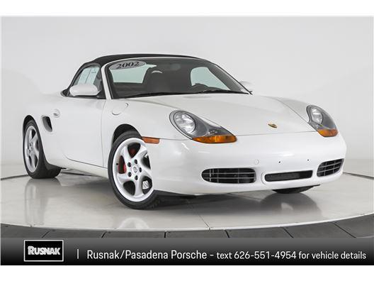 2002 Porsche Boxster for sale in Pasadena, California 91105