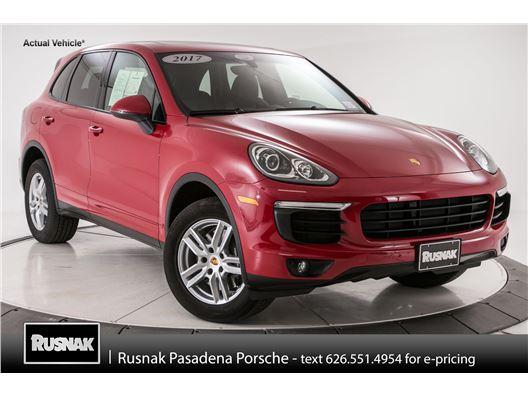 2017 Porsche Cayenne for sale in Pasadena, California 91105