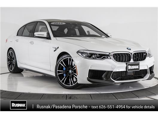 2018 BMW M5 for sale in Pasadena, California 91105