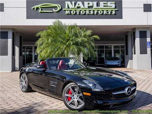2012 Mercedes-Benz SLS AMG Convertible for sale on GoCars.org