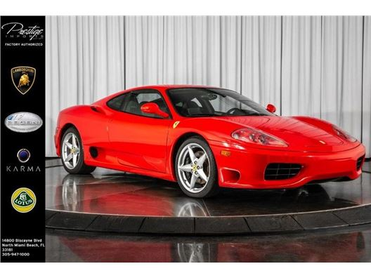 1999 Ferrari 360 Modena for sale in North Miami Beach, Florida 33181