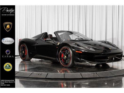 2014 Ferrari 458 Spider for sale in North Miami Beach, Florida 33181