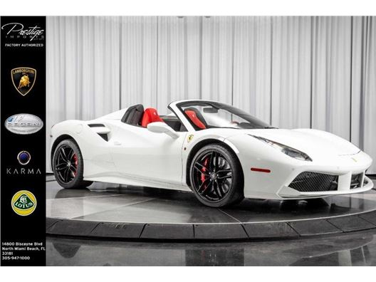 2019 Ferrari 488 Spider for sale in North Miami Beach, Florida 33181