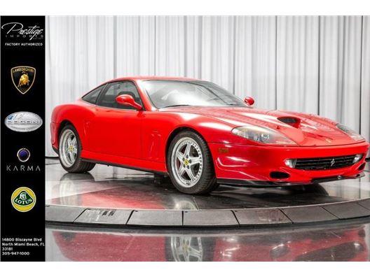 2000 Ferrari 550 MARANELLO for sale in North Miami Beach, Florida 33181