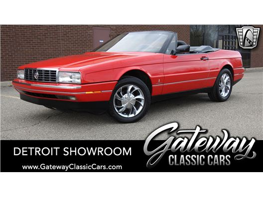 1990 Cadillac Allante for sale in Dearborn, Michigan 48120