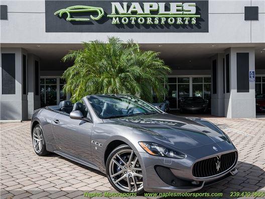 2016 Maserati Gran Turismo Sport Convertible for sale in Naples, Florida 34104