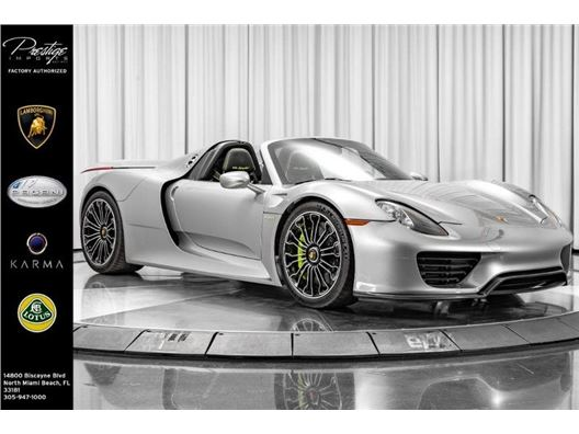 2015 Porsche 918 Spyder for sale in North Miami Beach, Florida 33181