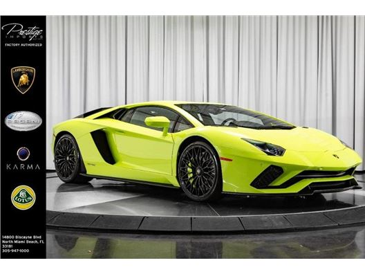 2018 Lamborghini Aventador for sale in North Miami Beach, Florida 33181