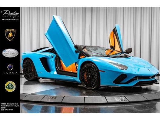 2019 Lamborghini Aventador for sale in North Miami Beach, Florida 33181