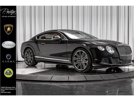 2013 Bentley Continental GT Speed for sale in North Miami Beach, Florida 33181