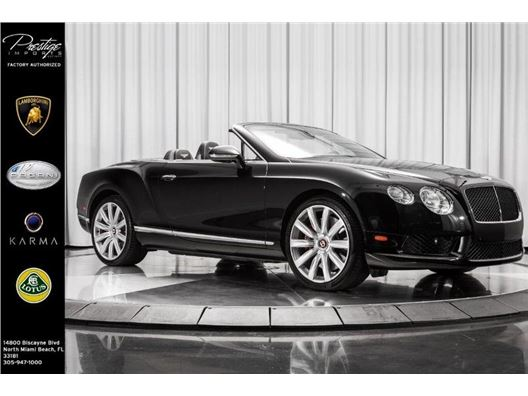 2013 Bentley Continental GT V8 for sale in North Miami Beach, Florida 33181