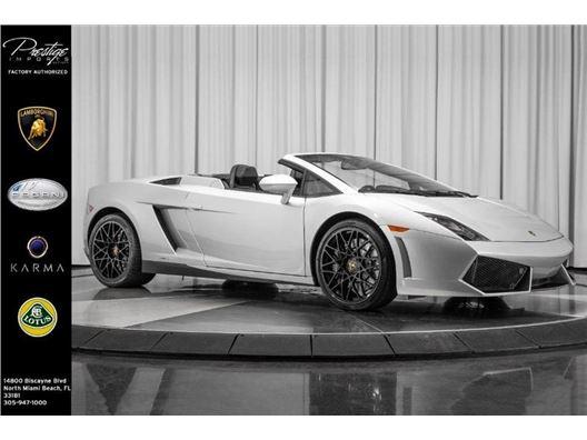 2012 Lamborghini Gallardo for sale in North Miami Beach, Florida 33181