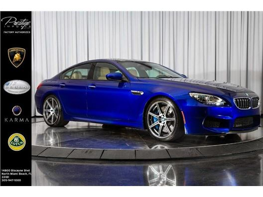 2015 BMW M6 for sale in North Miami Beach, Florida 33181
