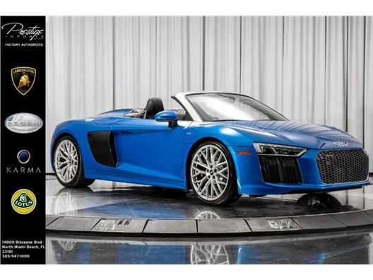 2018 Audi R8 Spyder for sale in North Miami Beach, Florida 33181