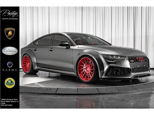 2016 Audi RS 7 for sale in North Miami Beach, Florida 33181