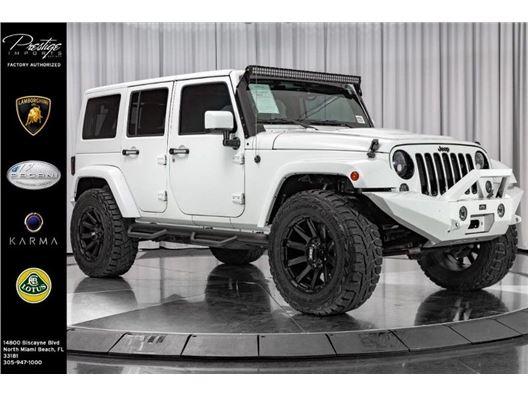 2015 Jeep Wrangler Unlimited for sale in North Miami Beach, Florida 33181