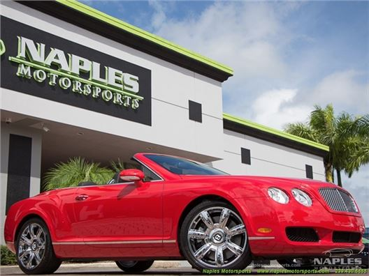 2007 Bentley Continental GT GTC for sale in Naples, Florida 34104