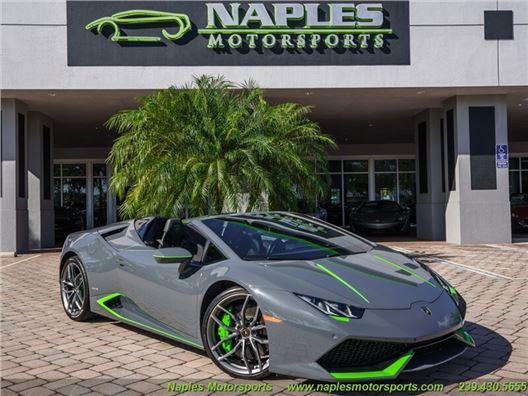2016 Lamborghini Huracan LP 610-4 Spyder for sale on GoCars.org