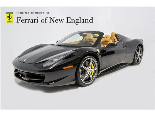 2014 Ferrari 458 Spider for sale in Norwood, Massachusetts 02062