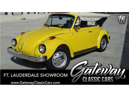 1976 Volkswagen Beetle for sale in Coral Springs, Florida 33065