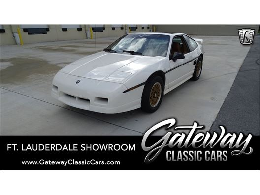 1988 Pontiac Fiero for sale in Coral Springs, Florida 33065