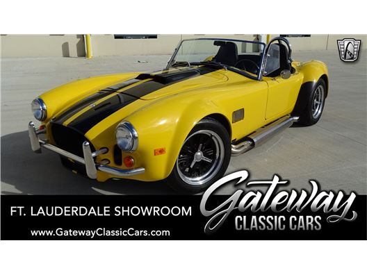 1996 AC Cobra for sale in Coral Springs, Florida 33065
