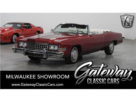 1974 Cadillac Eldorado for sale in Kenosha, Wisconsin 53144