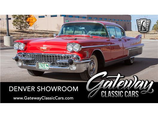 1958 Cadillac Fleetwood for sale in Englewood, Colorado 80112