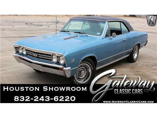 1967 Chevrolet Chevelle for sale in Houston, Texas 77090