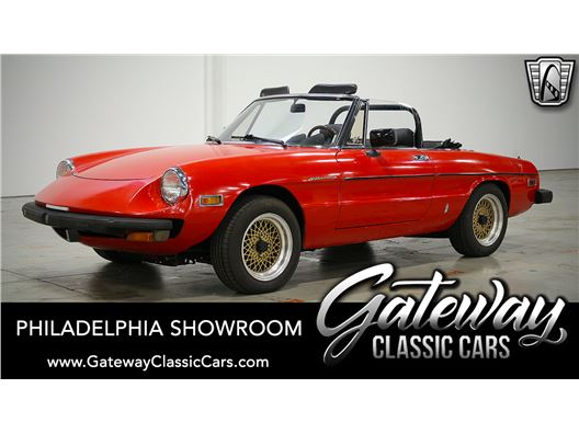 1979 Alfa Romeo Spider for sale in West Deptford, New Jersey 8066